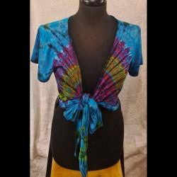 Batik dam tröja st: Medium
