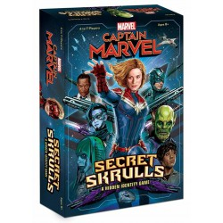 Captain Marvel: Secret skulls