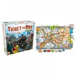 Ticket to Ride: Europe (Swe)