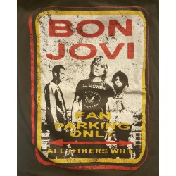 Bon Jovi - Fan parking only