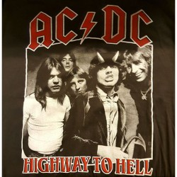 "AC/DC ""Highway to hell""..."
