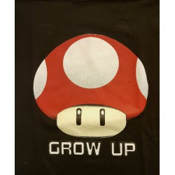"Super Mario ""Grow up"" T-shirt"