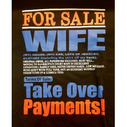 For sale Wife T-shirt