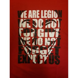 "Guy Fawkes ""We are Legion"""