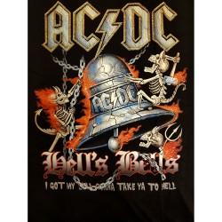 "AC/DC ""Hells bells"" T-shirt"