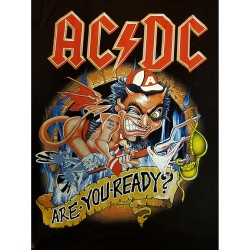 "AC/DC ""Are you ready"" T-shirt"
