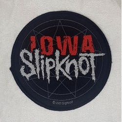 Slipknot IOWA rund Patch