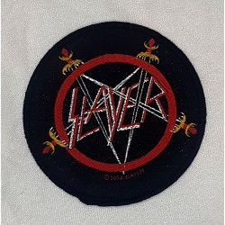 Slayer pentagram rund patch