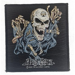 Alchemy Gothic Skeleton Patch