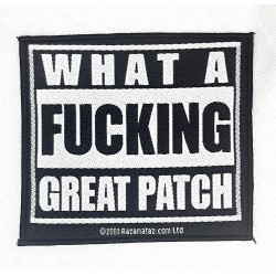 What a fucking great Patch
