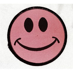 Rosa Smiley Patch