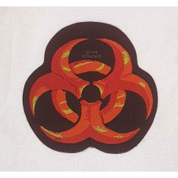 Biohazard utskuren Patch