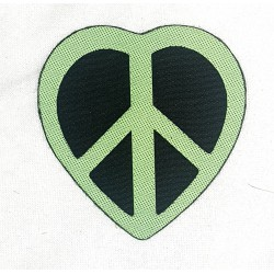 Heart Peace Patch