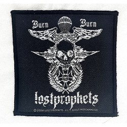 lostprophets - burn burn Patch