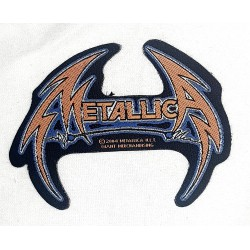 Metallica utskuren Patch