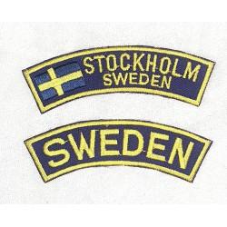 Stockholm Sweden Patch
