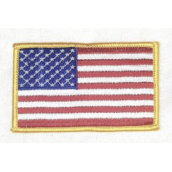 Amerikanska Flaggan Patch