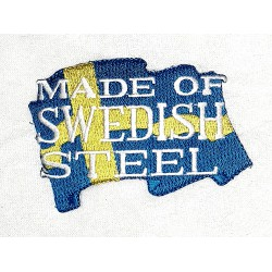 Made of swedish steel Patch
