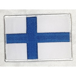 Finska flaggan Patch